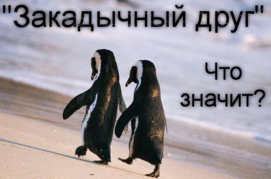 закадычный друг что означает фраза