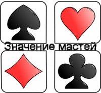 Что означают масти на игральных картах